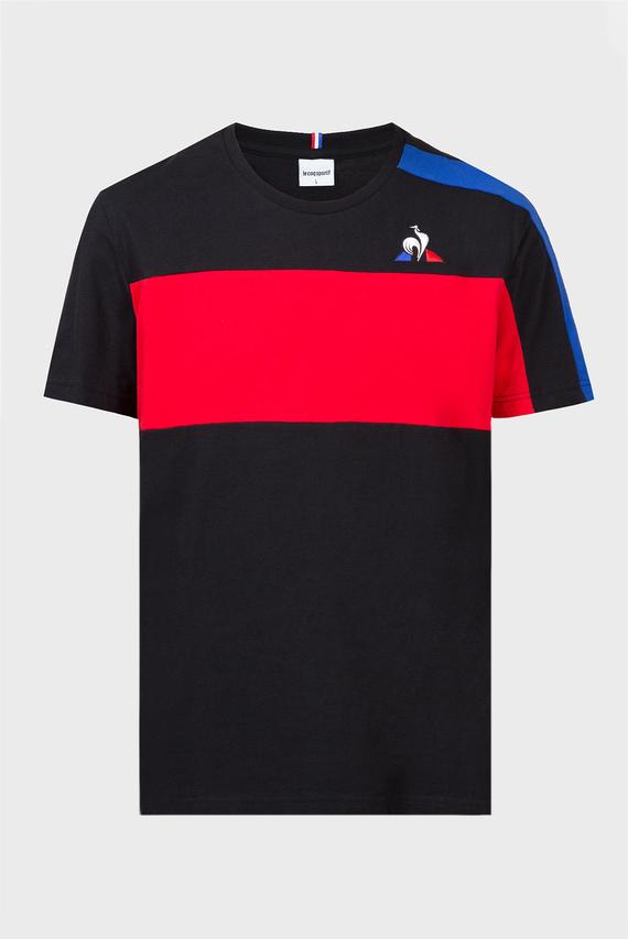 Мужская черная футболка TRICOLORE T-SHIRT