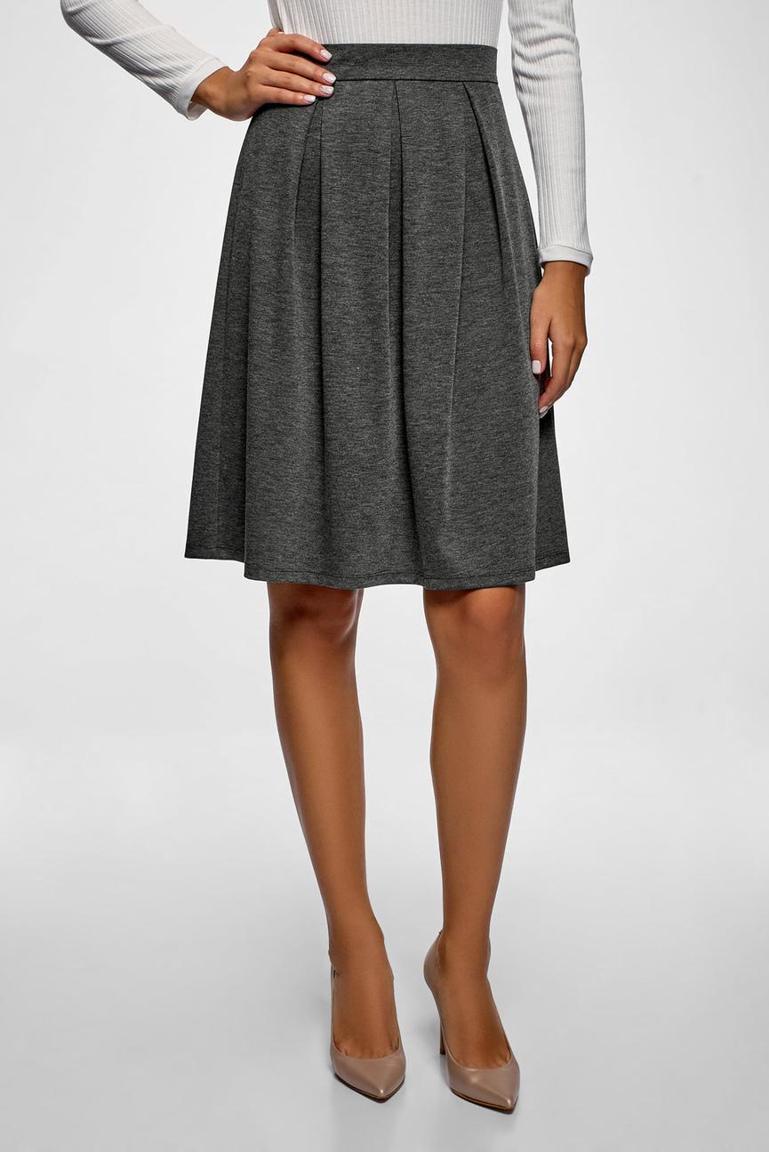 6c298c0dff2 Купить Женская красная юбка-карандаш с ремнем Oodji Oodji 21601273-1 ...
