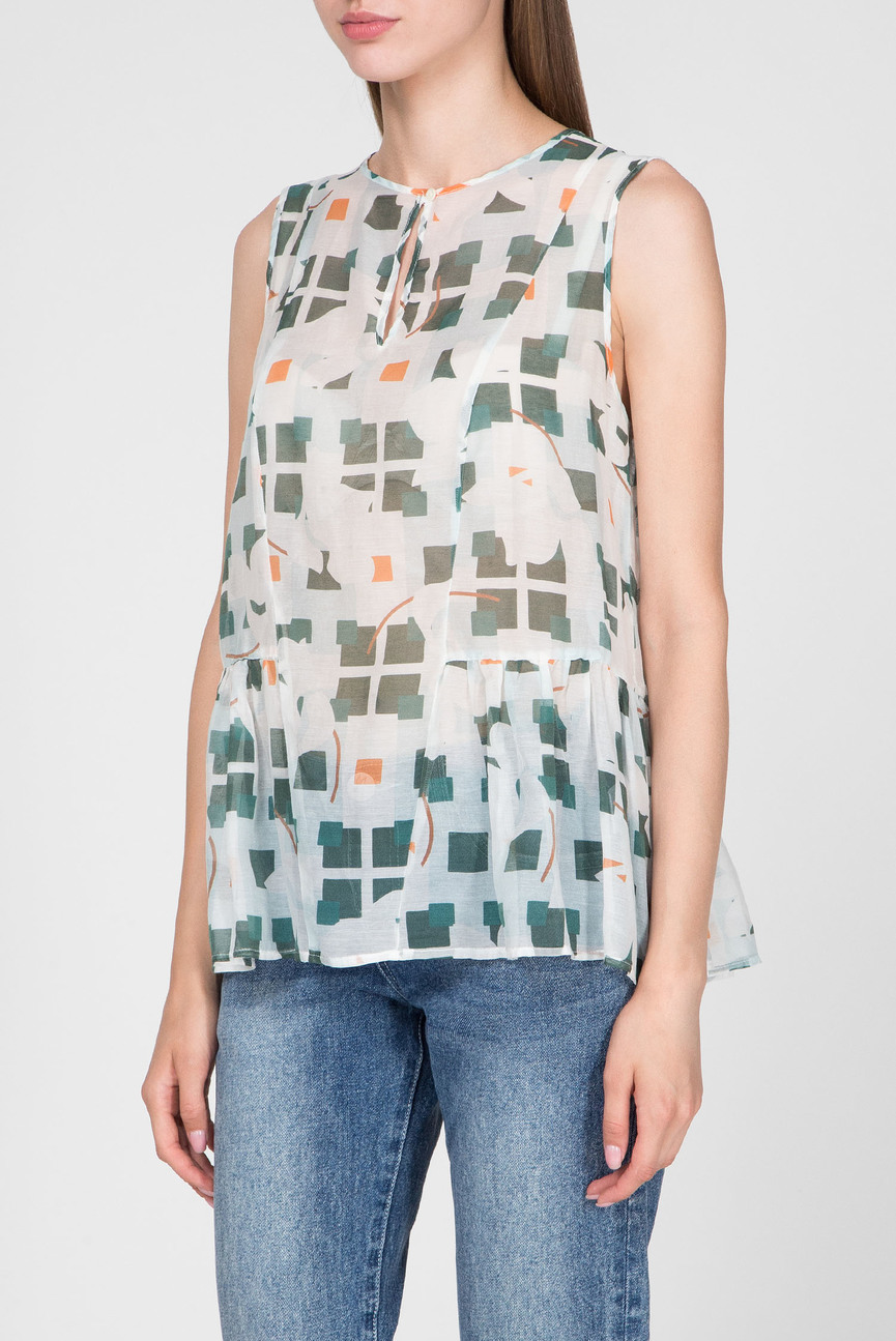 Женская блуза с принтом