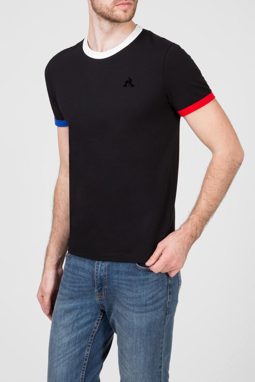 Мужская черная футболка ESSENTIELS T-SHIRT