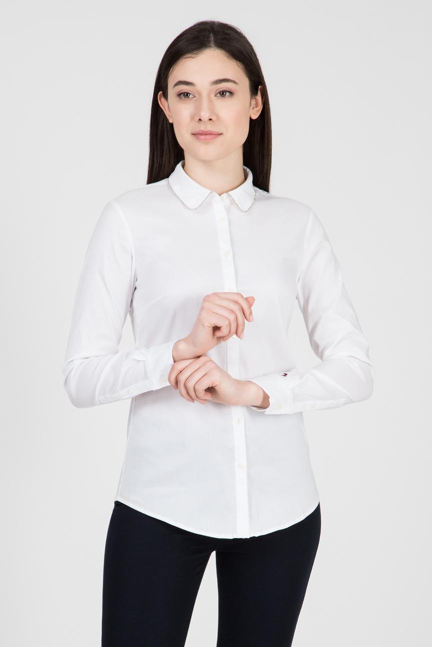 Женская белая рубашка LOLA
