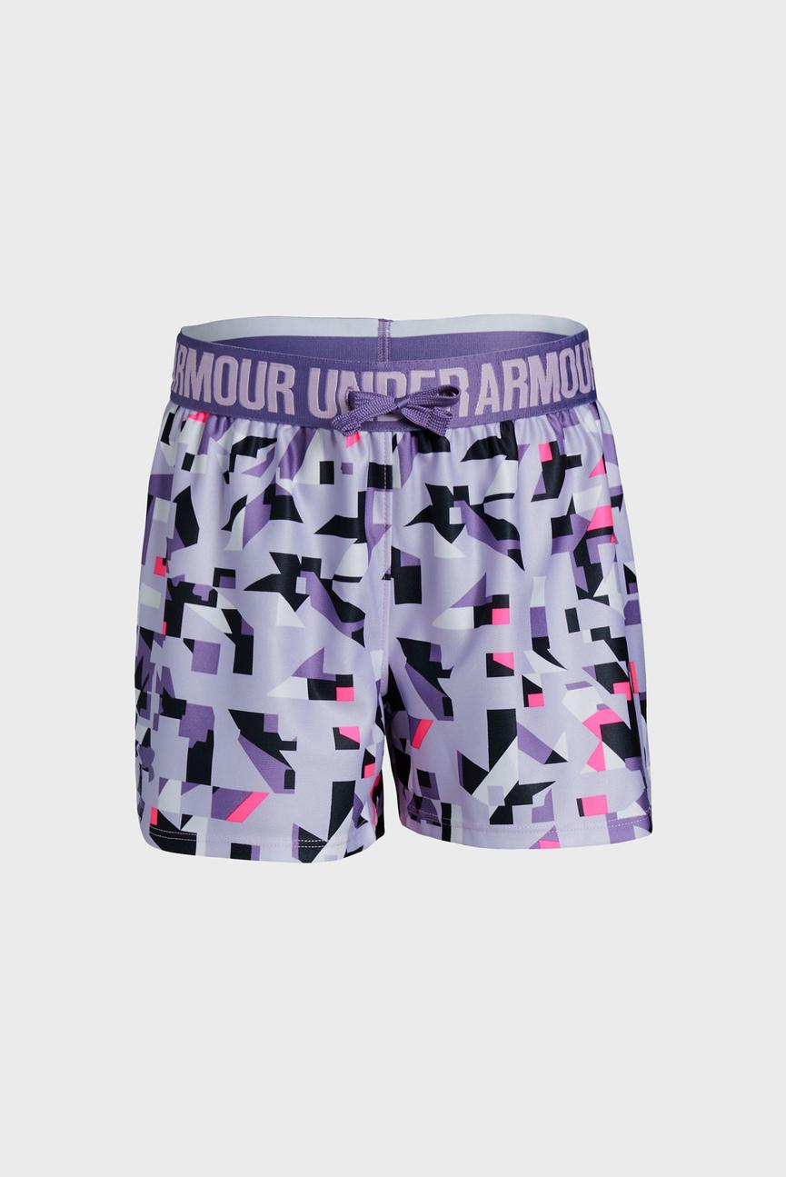 Детские фиолетовые шорты Play Up Printed