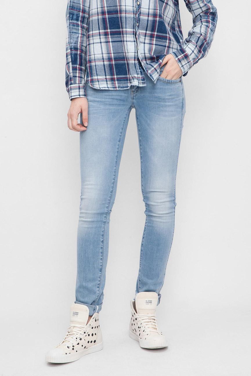Женские голубые джинсы Lynn Mid Skinny