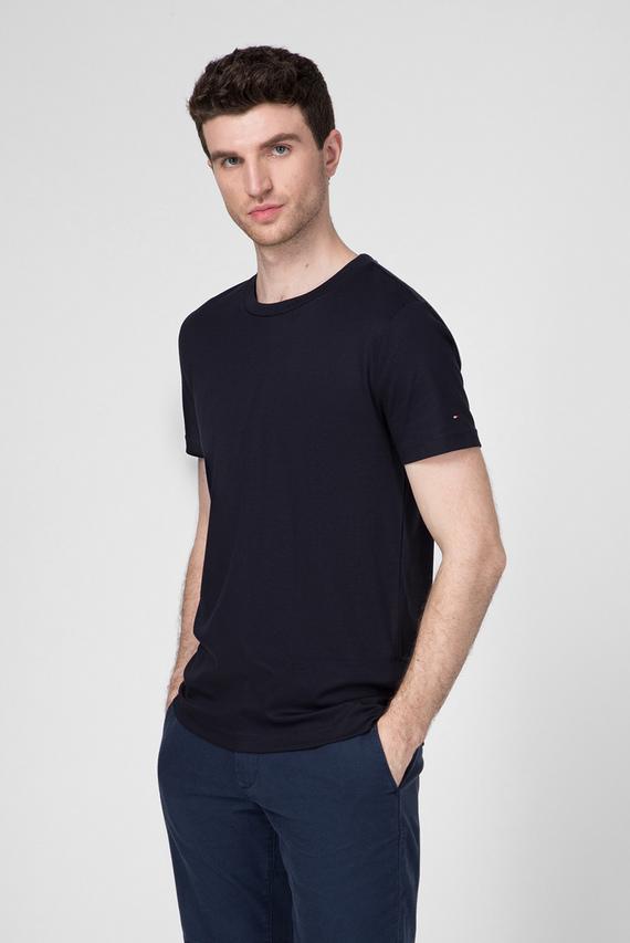 Мужская темно-синяя футболка PREMIUM PIMA INTERLOCK