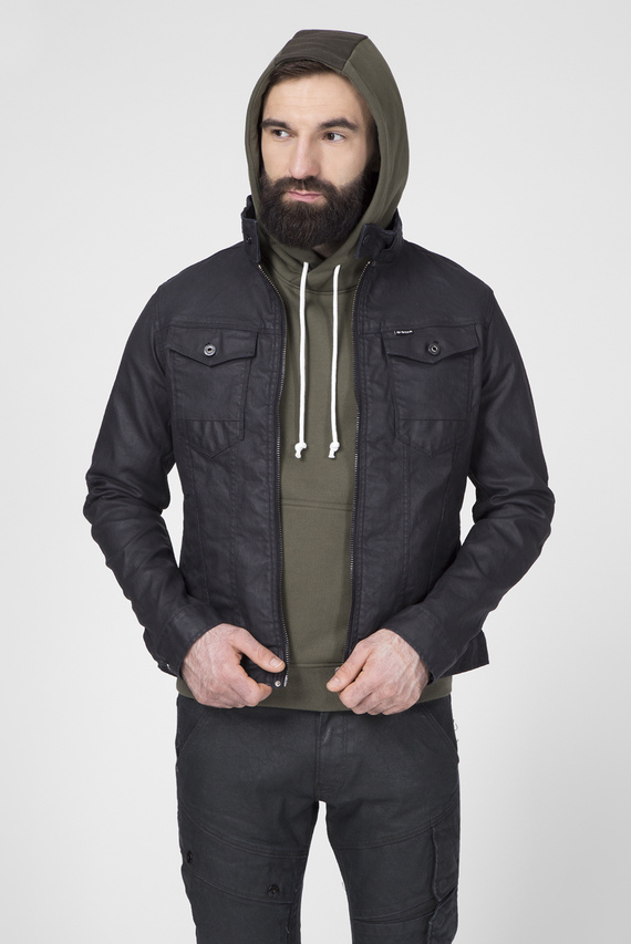 Мужская черная куртка Arc 3D