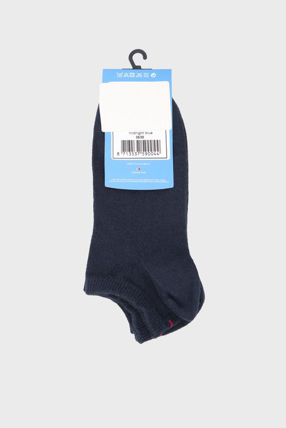Детские темно-синие короткие носки (2 пары)