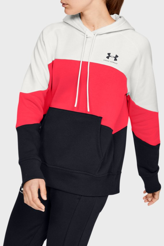 Женское худи Rival Fleece Color block Hoodie