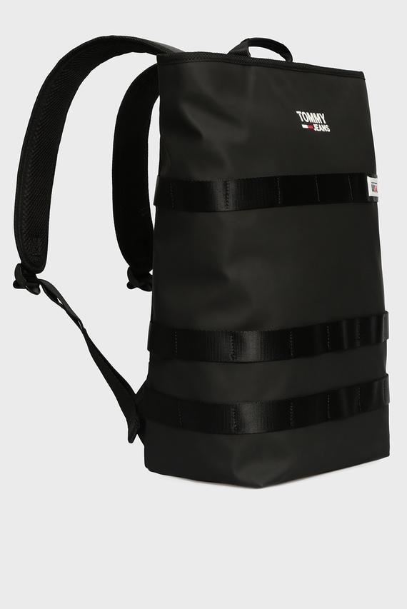 Мужской черный рюкзак TJM CASUAL