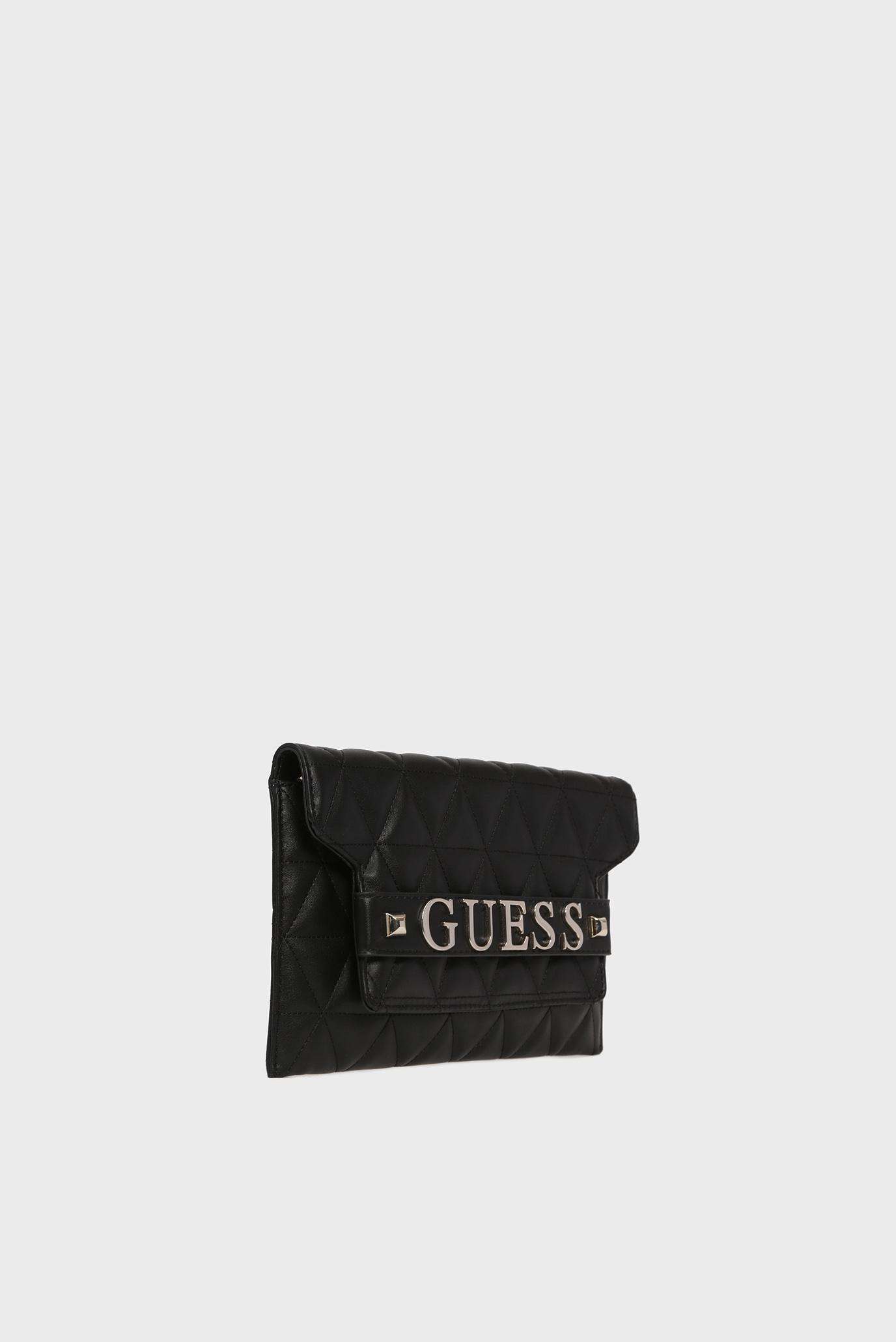 Купить Женский черный клатч LAIKEN MINI Guess Guess HWVG7407720 – Киев, Украина. Цены в интернет магазине MD Fashion