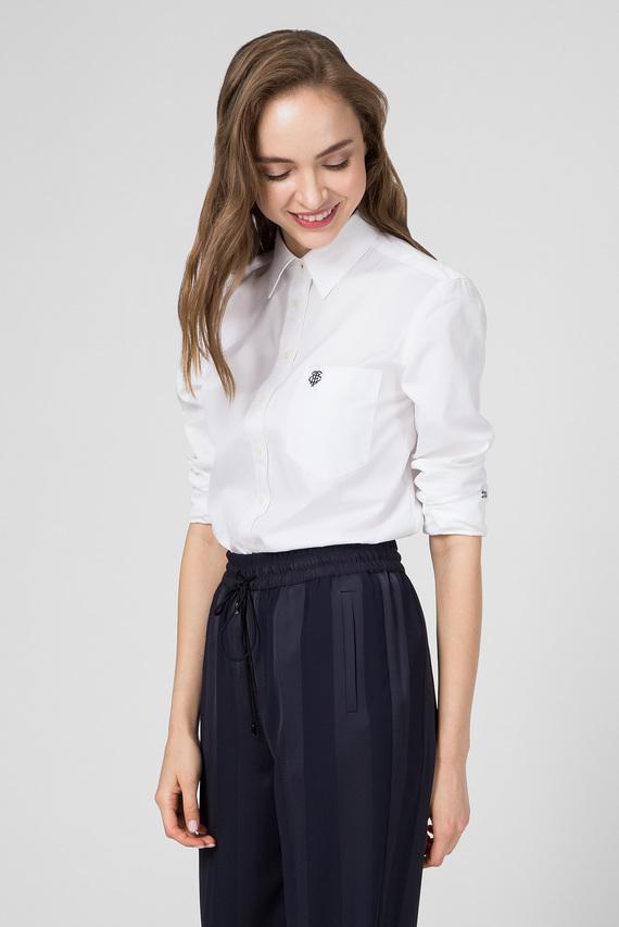 Женская белая рубашка DELIA