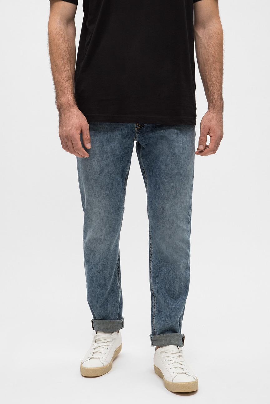 Мужские синие джинсы LARKEE-BEEX