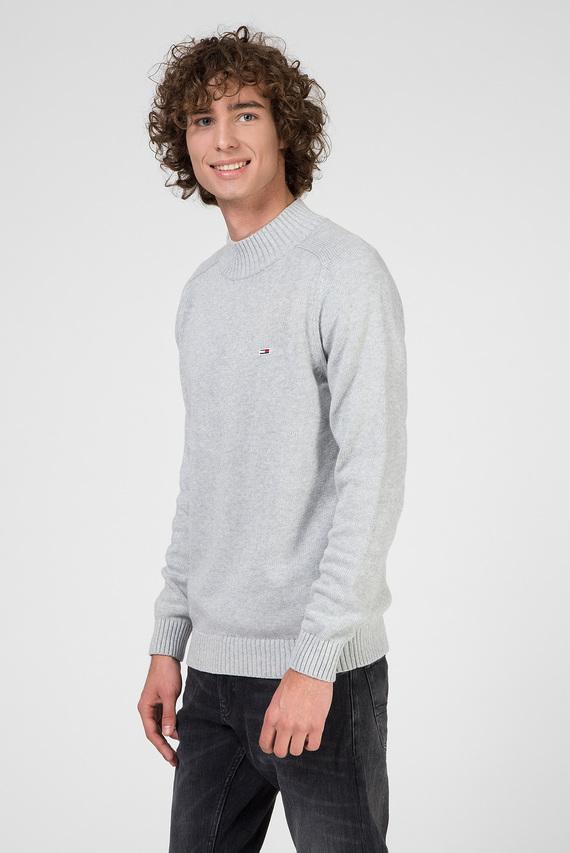 Мужской серый свитер TJM SOLID MOCK NECK