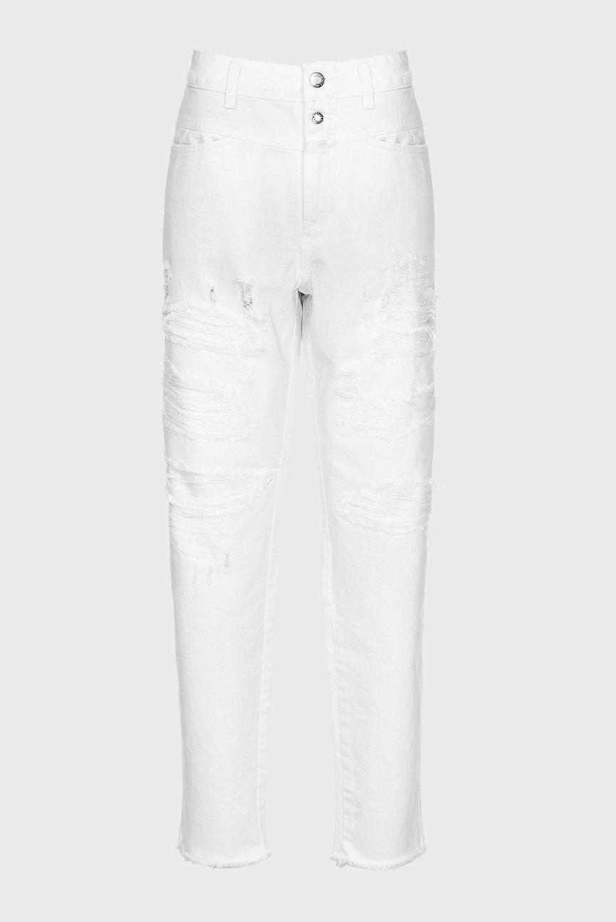 Женские белые джинсы PEDAL ICON