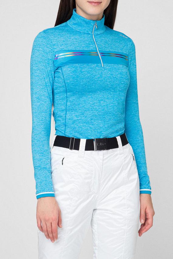 Женская голубая спортивная кофта