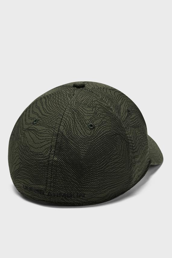 Мужская зеленая кепка UA Printed Blitzing 3.0