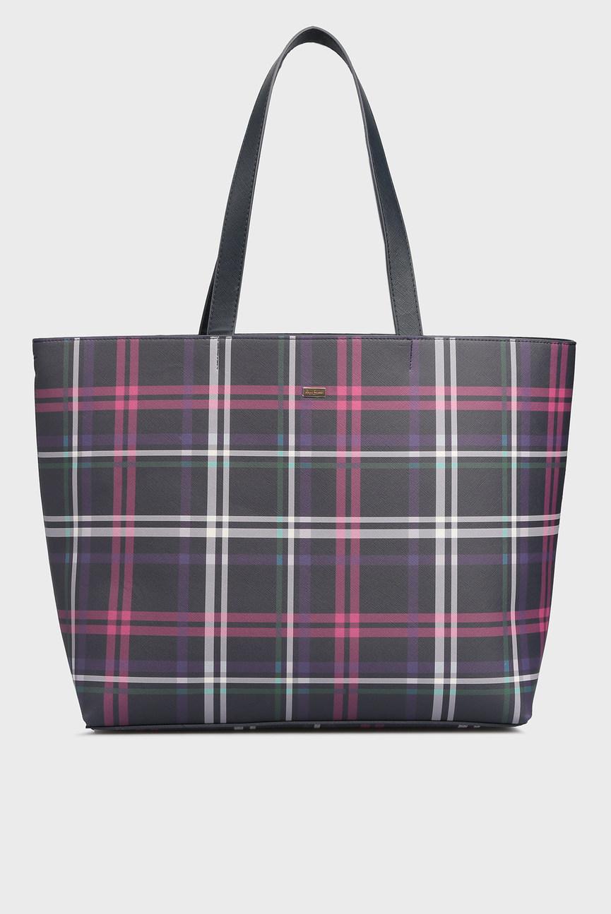 Женская черная сумка 2 в 1