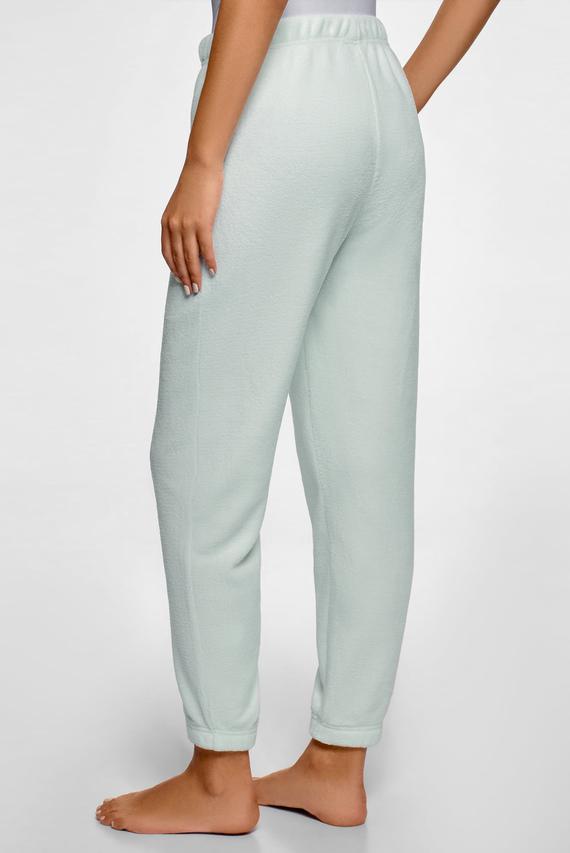 Женские бирюзовые пижамные брюки