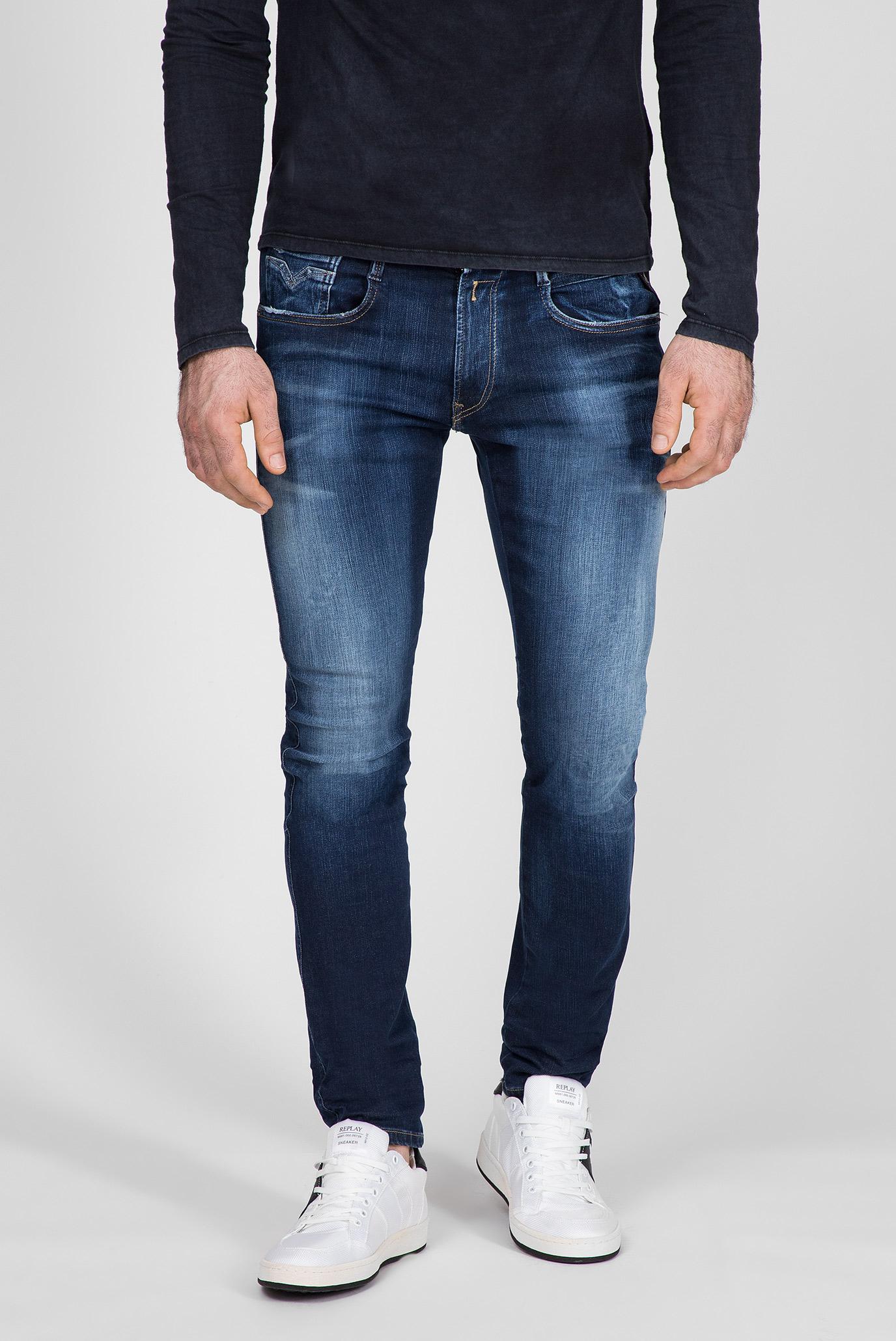 Мужские синие джинсы ANBASS Replay