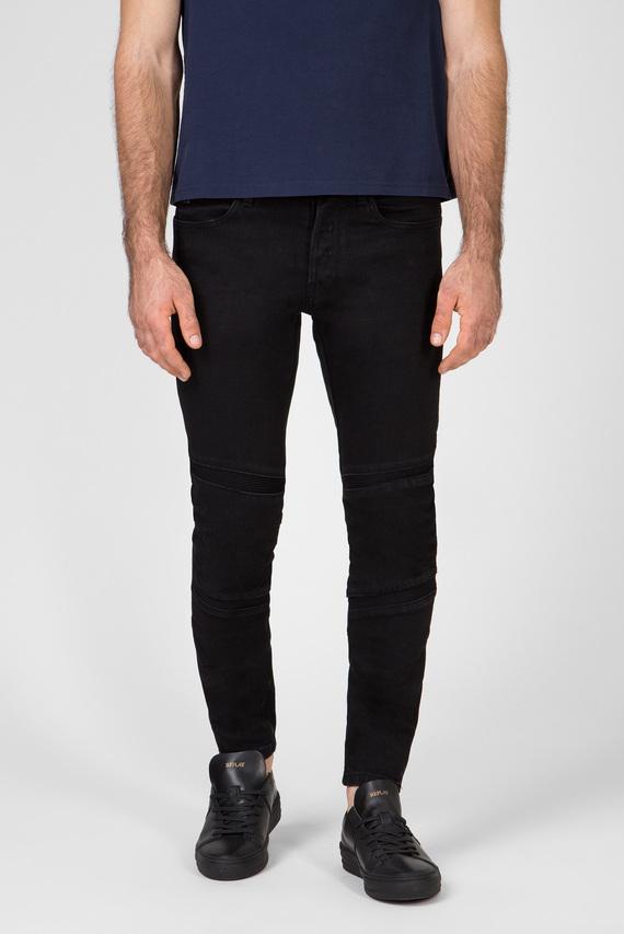 Мужские черные джинсы Motac 3D Slim