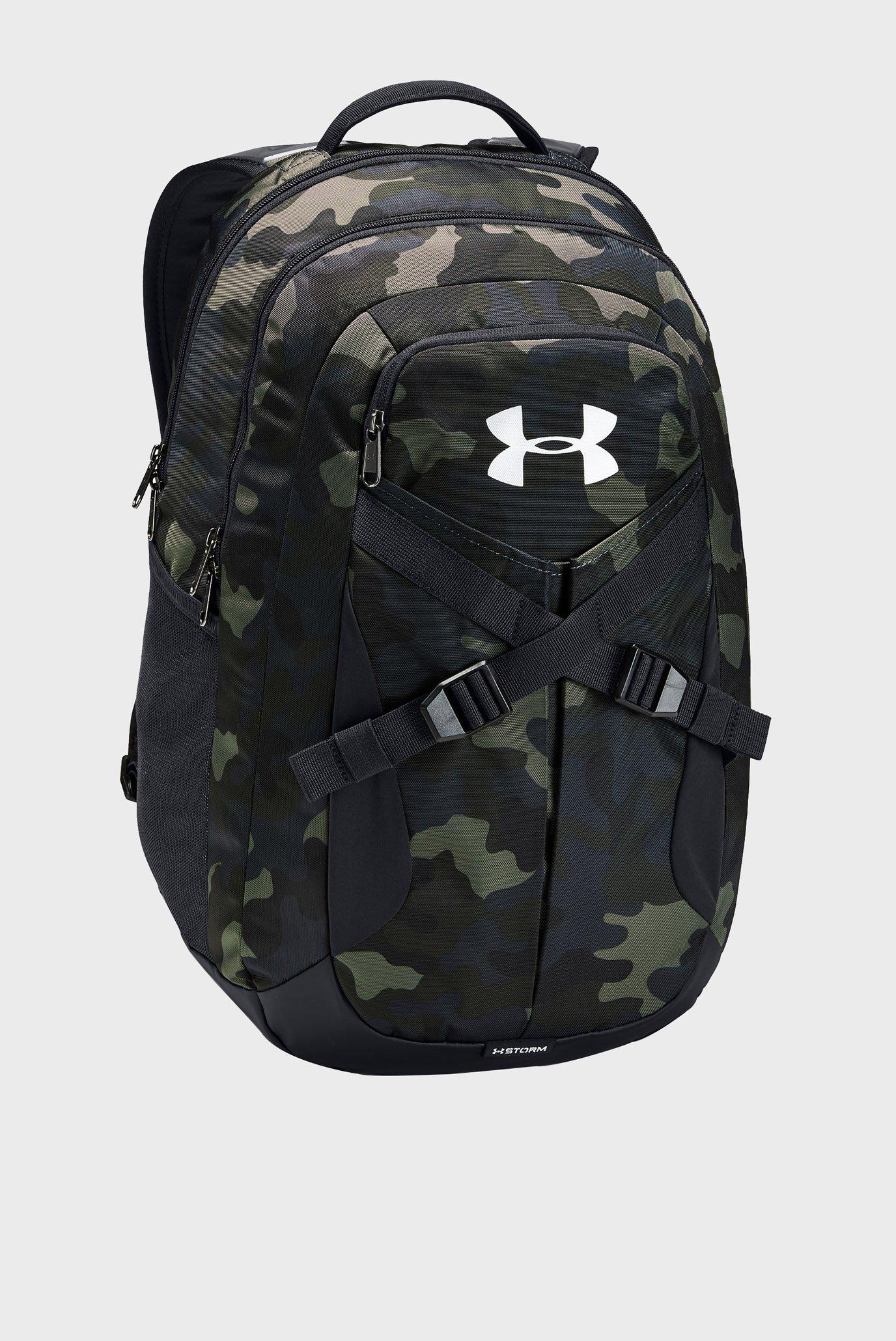 Зеленый рюкзак с принтом UA Recruit 2.0-BRN Under Armour