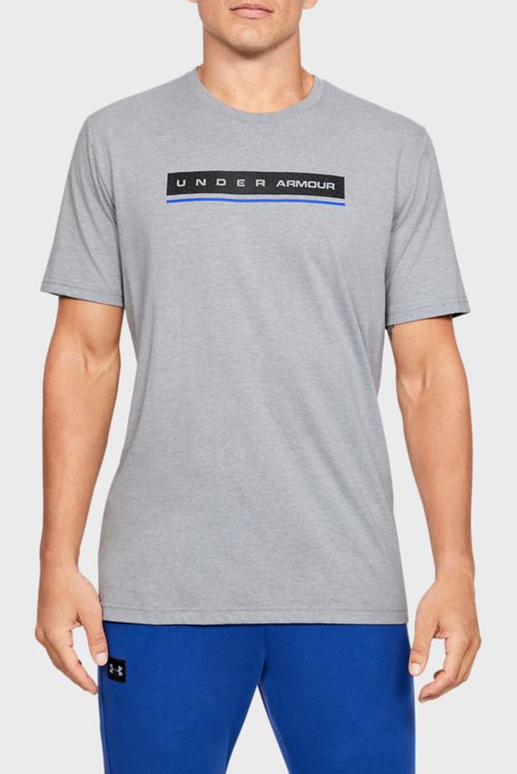 Мужская серая спортивная футболкаUA REFLECTION SS