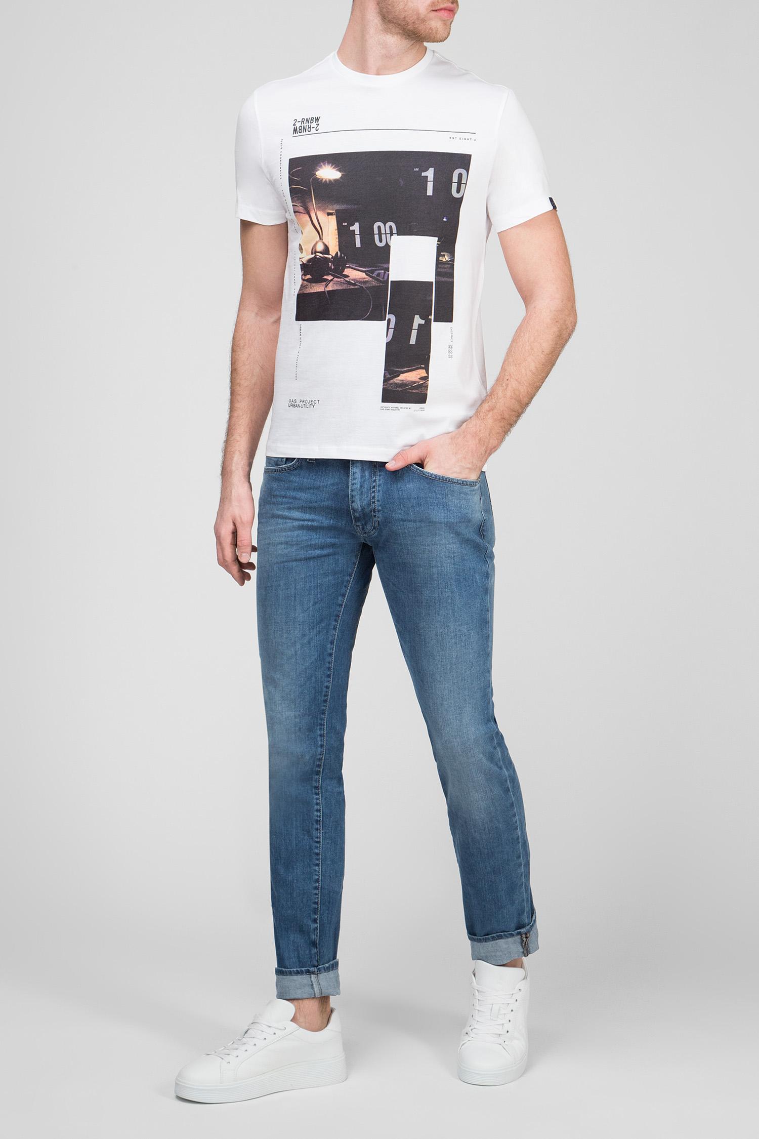 Купить Мужские синие джинсы MORRIS Gas Gas 85699-WK22 – Киев, Украина. Цены в интернет магазине MD Fashion