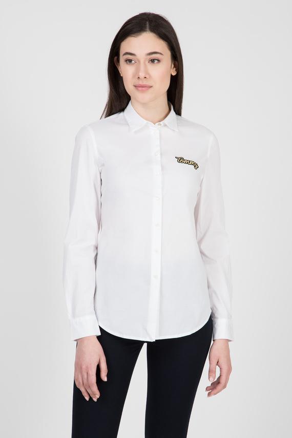 Женская белая рубашка LIBBY