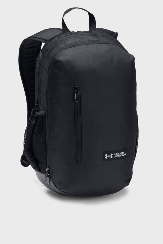 Черный рюкзак UA Roland Backpack-BLK