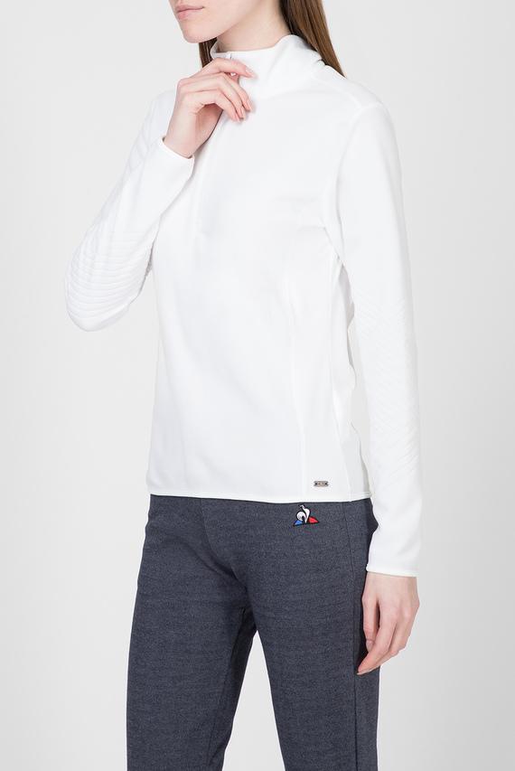 Женская белая спортивная кофта