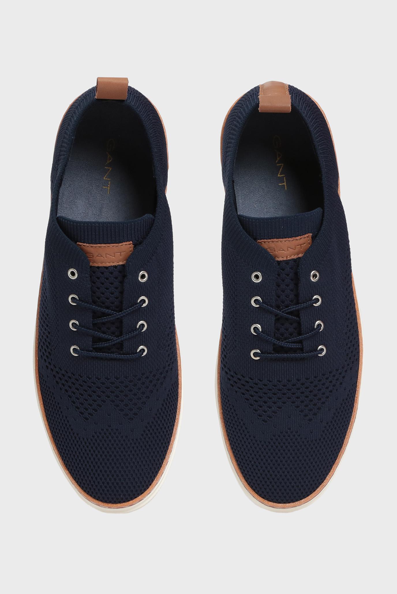 Купить Мужские темно-синие кеды BARI Gant Gant 18637425 – Киев, Украина. Цены в интернет магазине MD Fashion