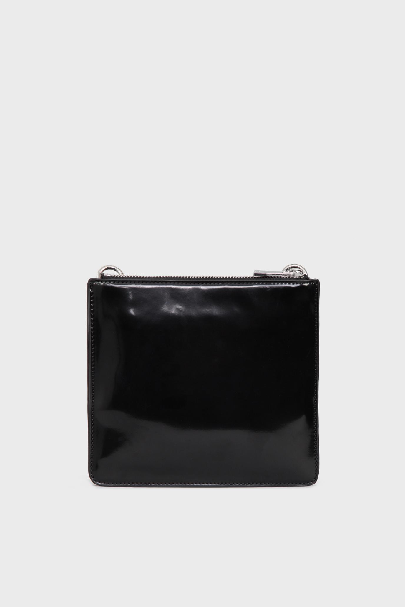 Женская черная сумка через плечо Tosca Blu