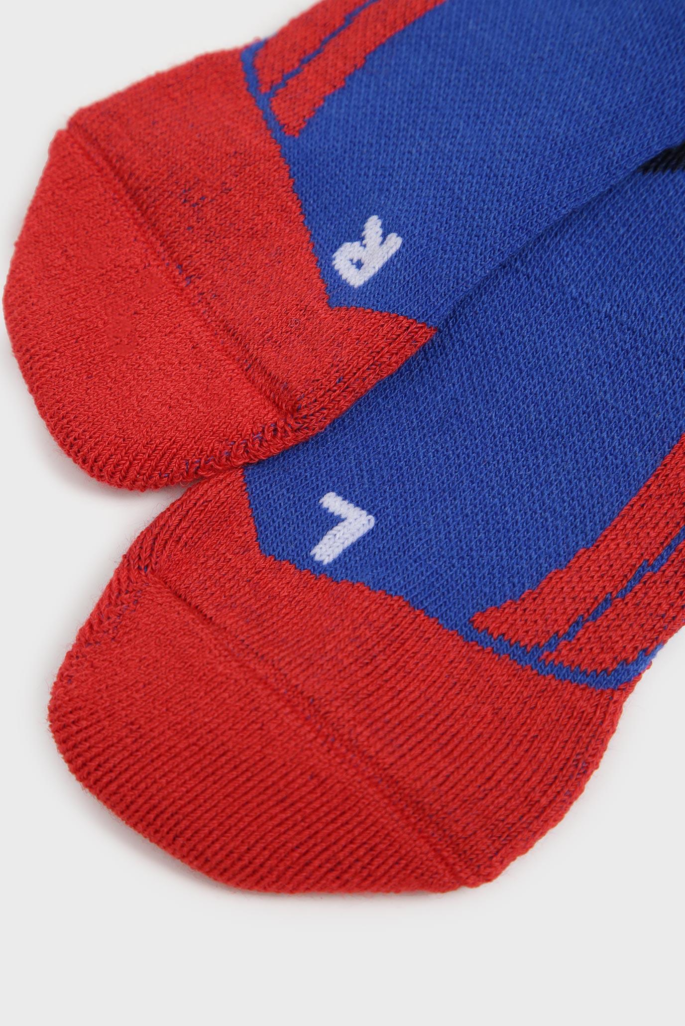 Детские синие лыжные носки Falke ESS