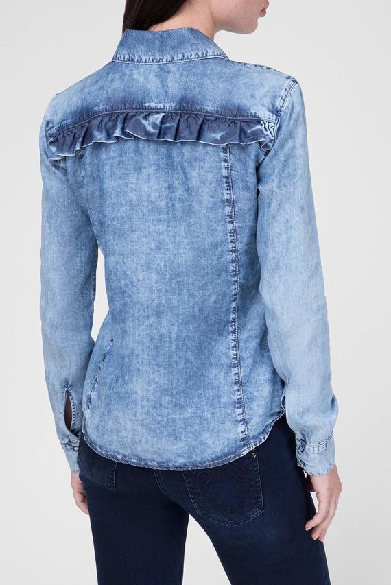 Женская джинсовая рубашка CAMICIA