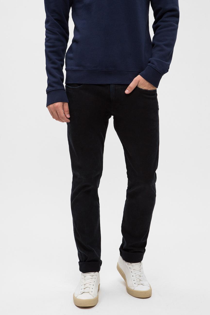 Мужские темно-синие джинсы ANBASS