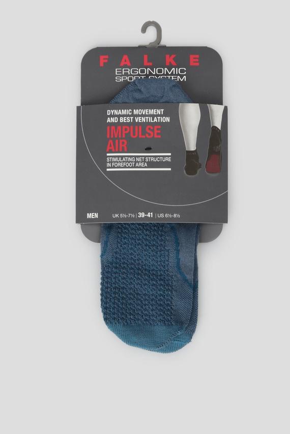 Мужские светло-синие носки для бега IMPU. AIR