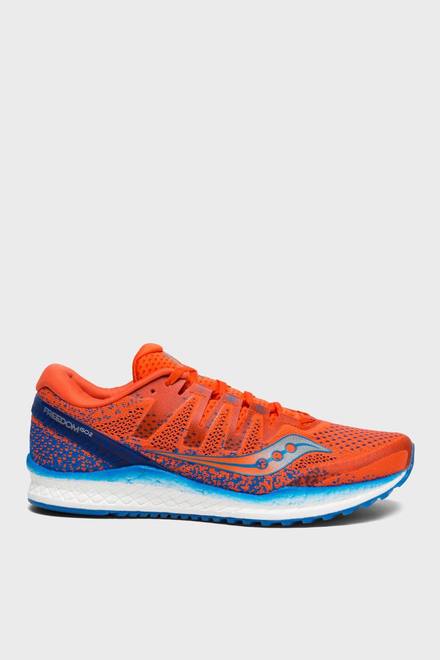 Женские оранжевые кроссовки FREEDOM ISO 2
