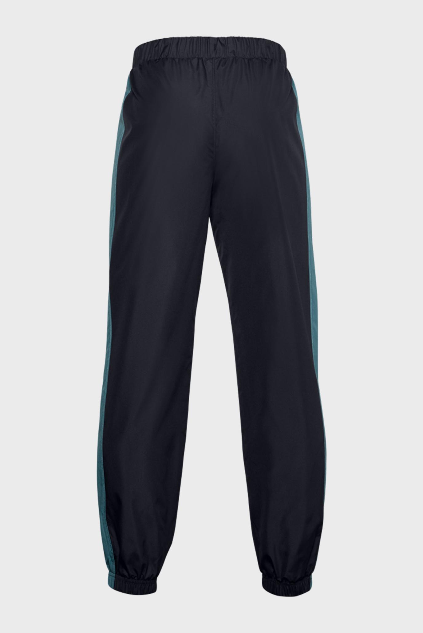Детские спортивные брюки UA Mesh Lined Pants-BLK Under Armour