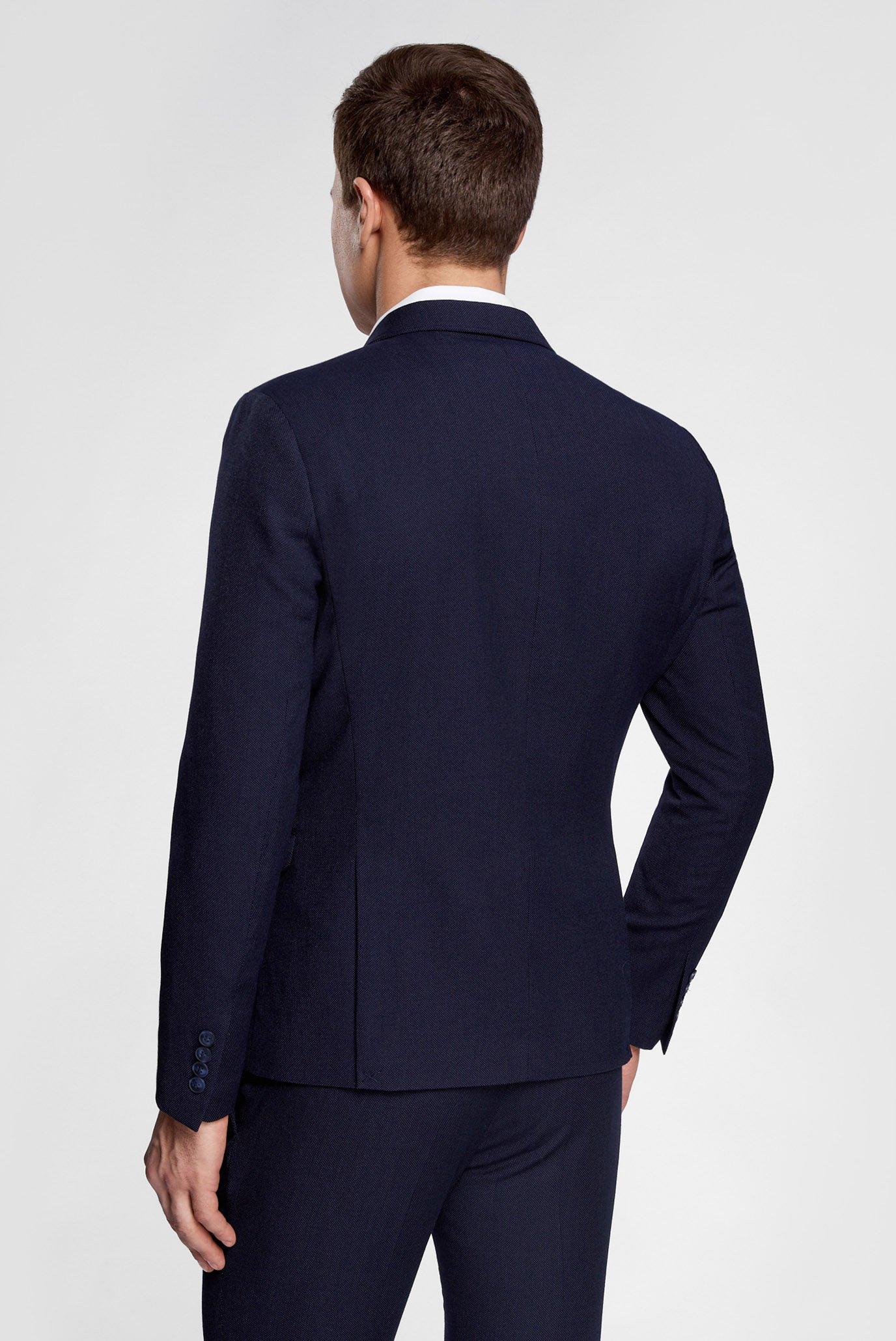 Купить Мужской темно-синий пиджак Oodji Oodji 2L420185M/46311N/7900O – Киев, Украина. Цены в интернет магазине MD Fashion