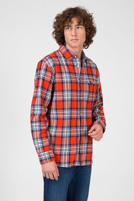 Мужская рубашка в клетку MASON
