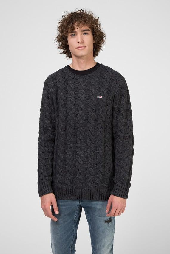 Мужской темно-серый свитер TJM ESSENTIAL CABLE