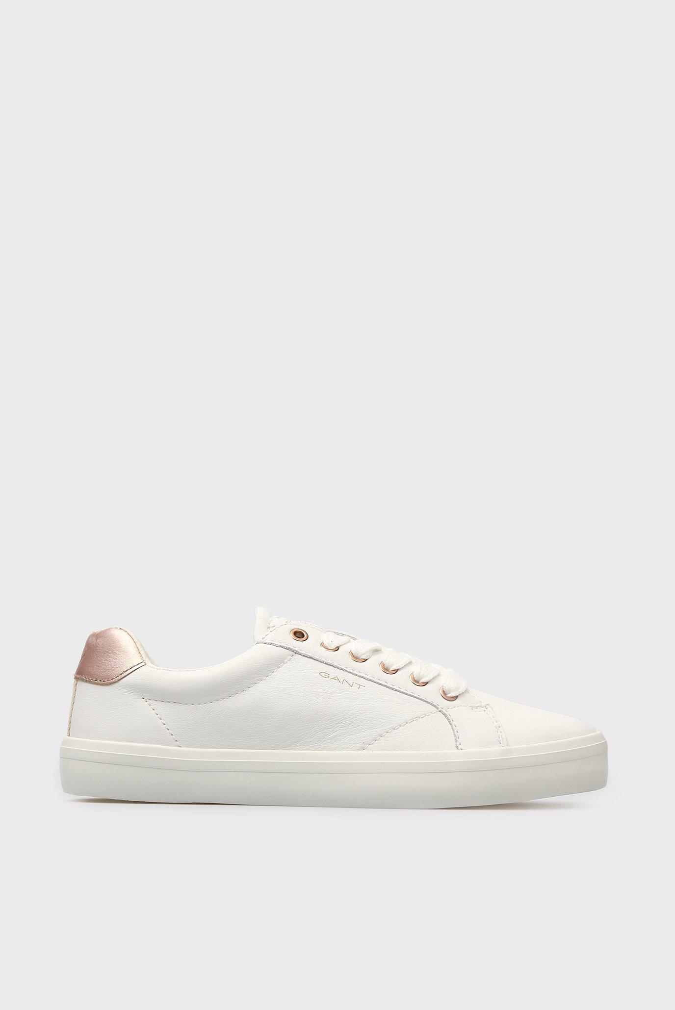 Купить Женские белые кожаные кеды BALTIMORE Gant Gant 18531452 – Киев, Украина. Цены в интернет магазине MD Fashion