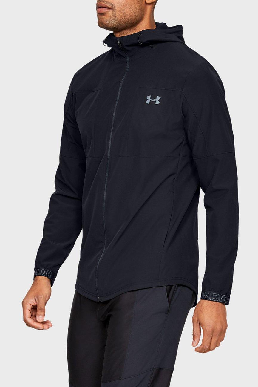 Мужская черная куртка Vanish Woven FZ Jacket