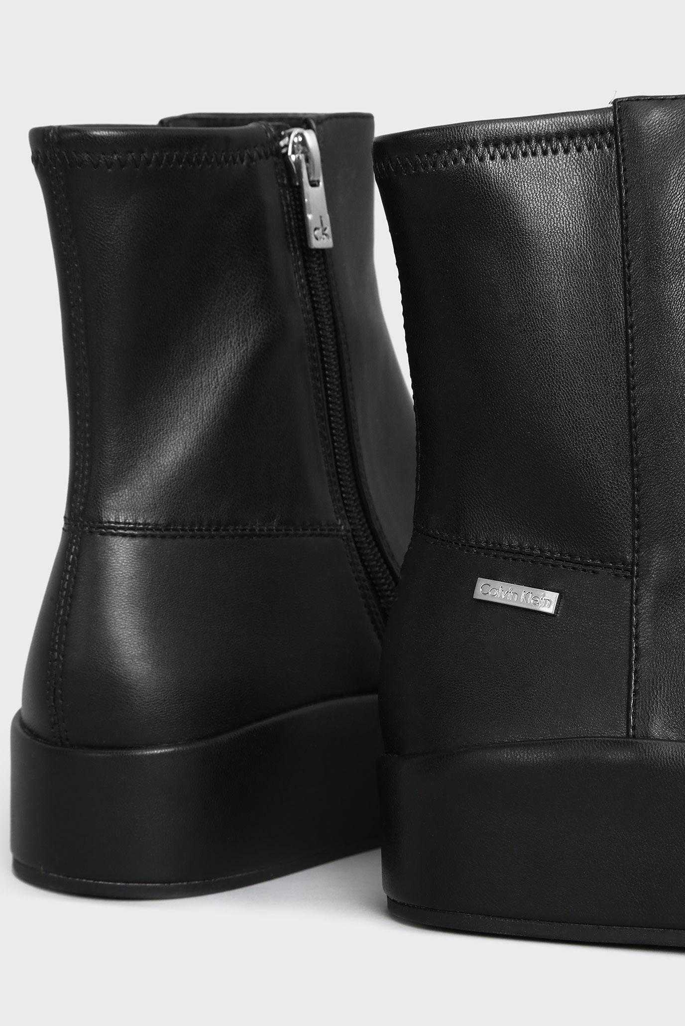 550330d08 Купить Женские черные ботинки на платформе Calvin Klein Calvin Klein E5906  – Киев, Украина. Цены в интернет ...