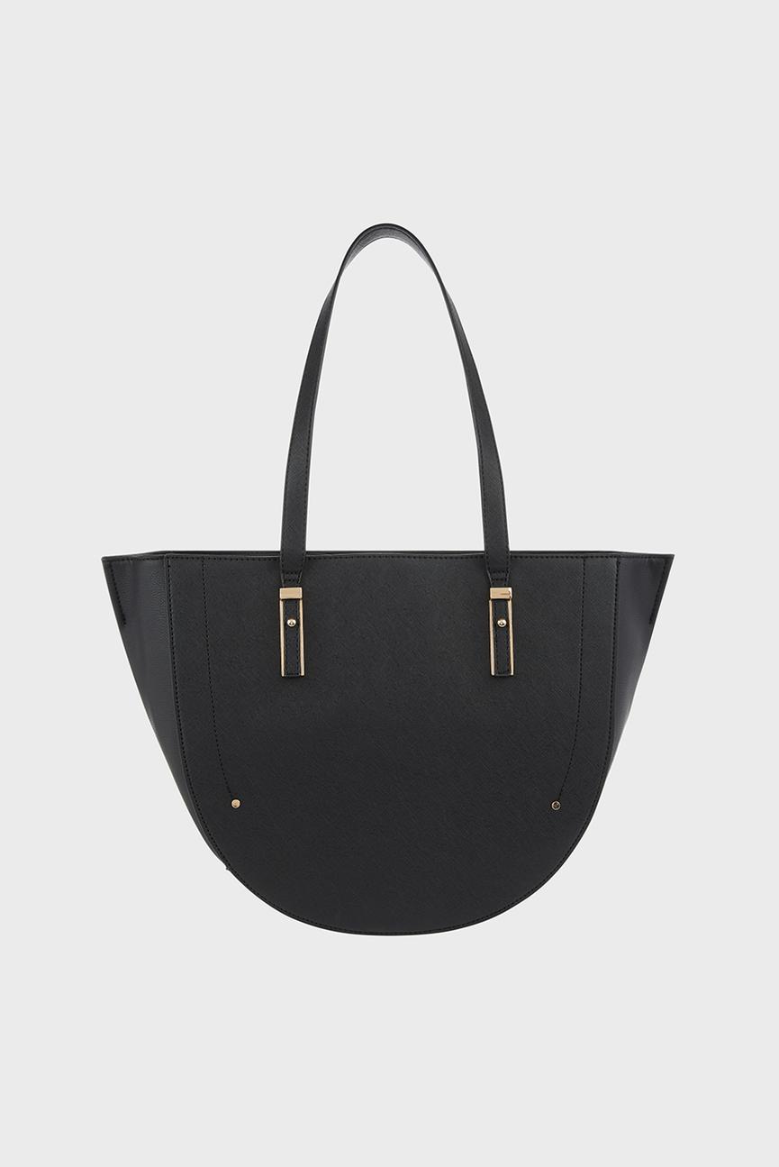 Женская черная сумка на плечо MIRANDA CRESCENT SHO