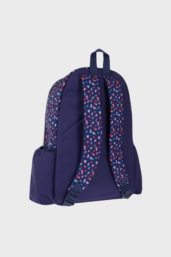 Детский серебристый рюкзак SUPER HERO UNICORN PRINT GLITTER