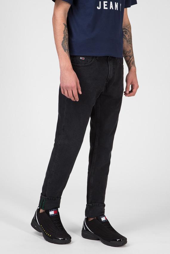 Мужские черные джинсы MODERN TAPERED TJ 1988