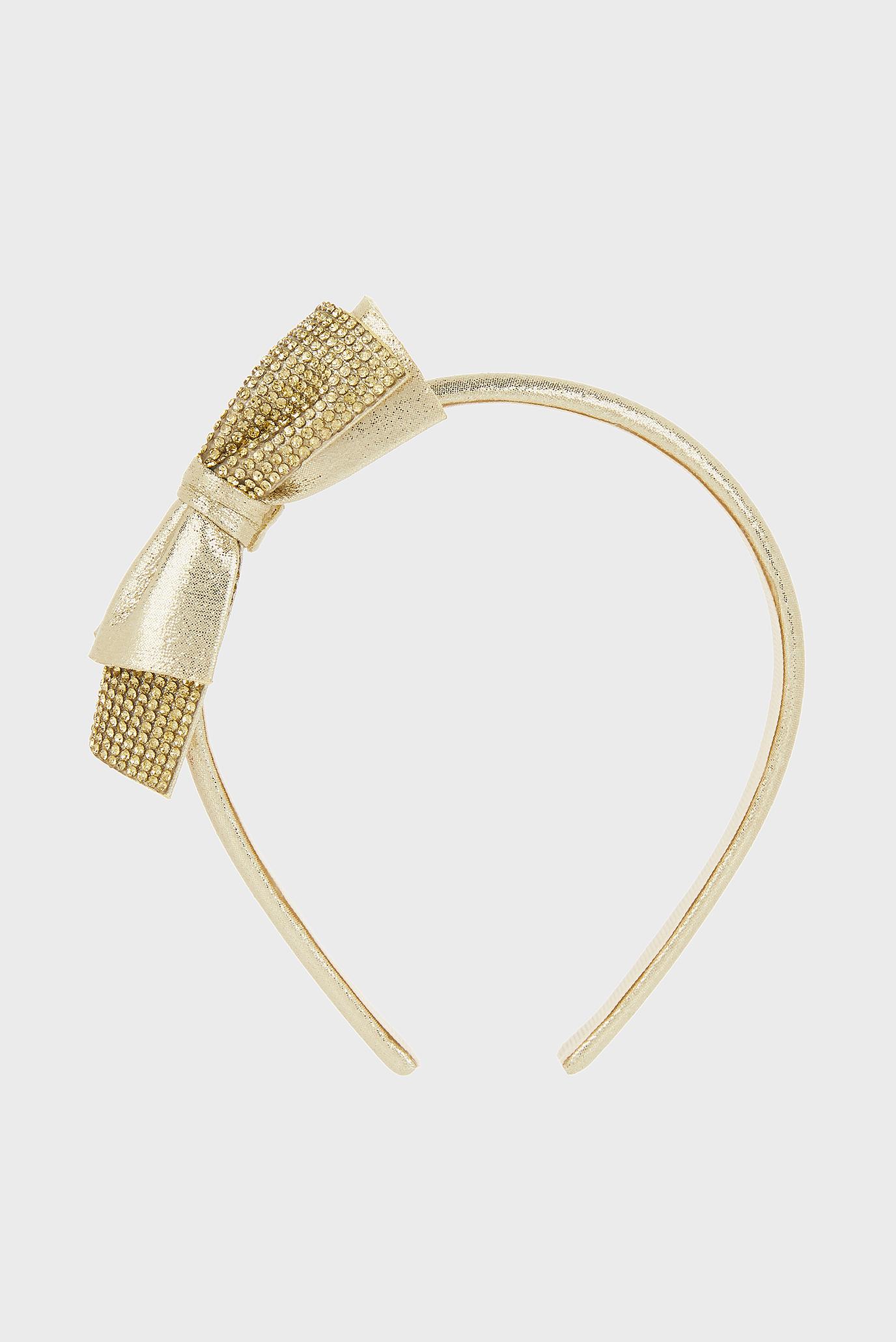 Детский золотистый обруч для волос Super Sparkle Dazzle Monsoon Children
