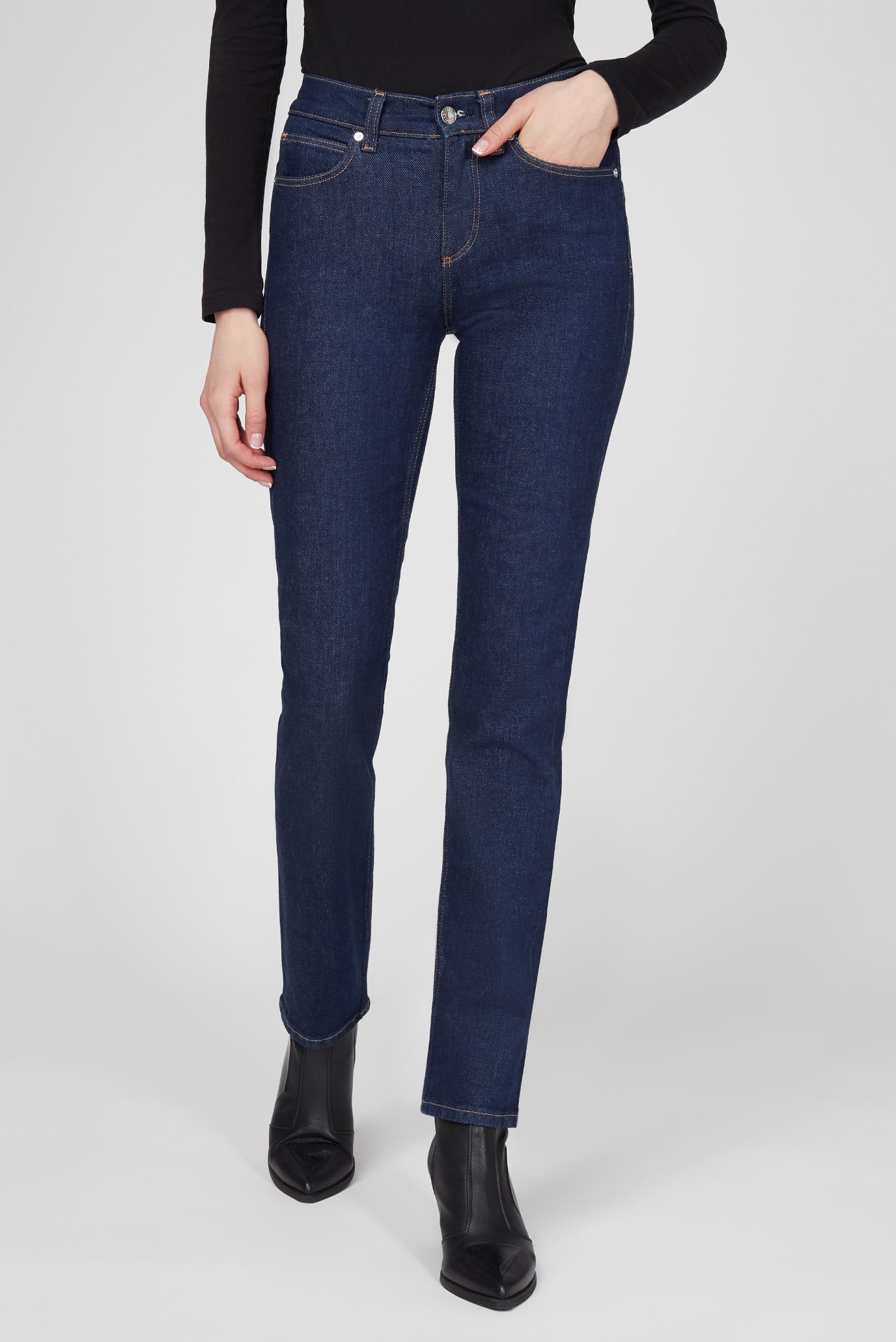 Женские темно-синие джинсы SLIM JEAN - DARK BLUE 1