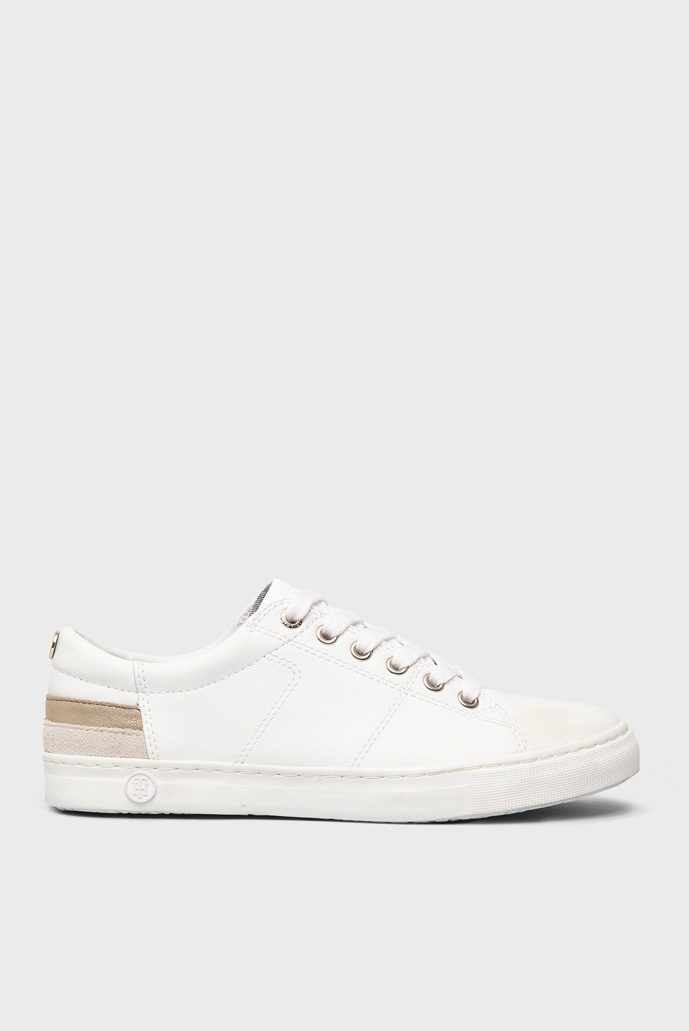 Купить Женские белые кожаные кеды Tommy Hilfiger Tommy Hilfiger FW0FW00798  – Киев 050a5c23bc3d3