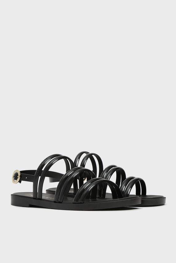 Женские черные сандалии IVY